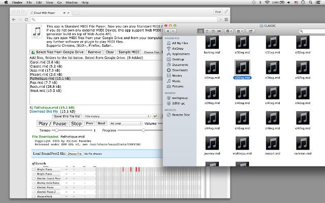 Midipiano – virtual piano | midi file player, recorder, editor.