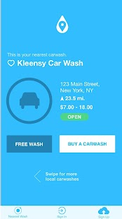 Car Wash Finder- screenshot thumbnail