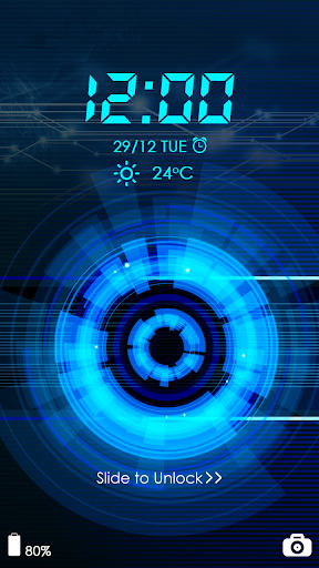 Technology CM Locker Theme screenshot 1
