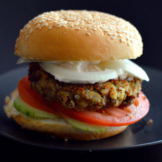 Cauliflower Lentil Burger [Vegan, Gluten-Free] Recipe