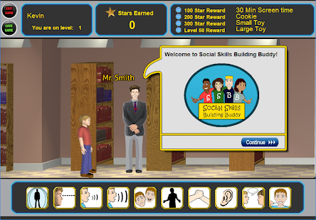 Social Skills Building Buddy Screenshot