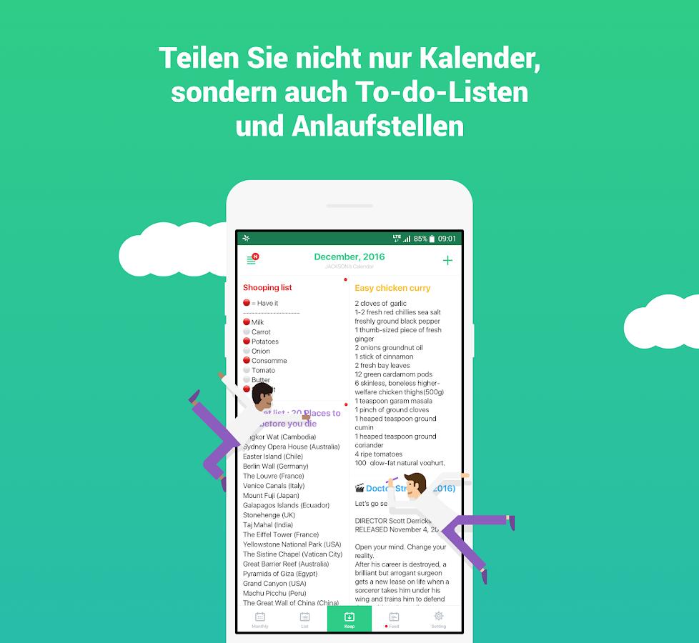 timetree gemeinsamer kalender android apps auf google play. Black Bedroom Furniture Sets. Home Design Ideas