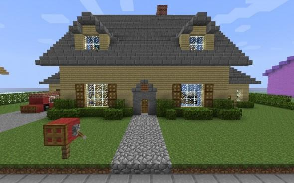 Building Ideas Mcpe House Mod Android Apps On Google Play