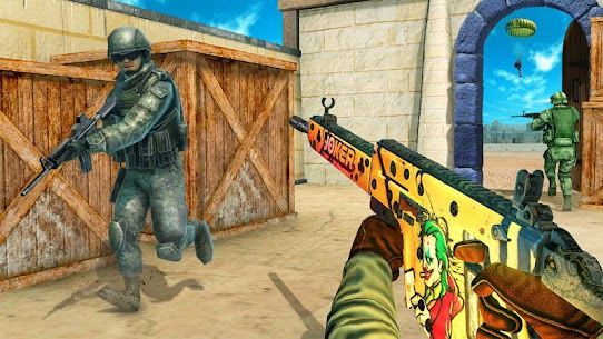 FPS Commando Secret Mission MOD APK ( Unlimited All) 4