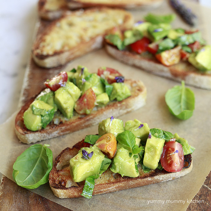 Avocado Toast Bruschetta Recipe