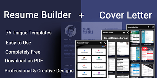 Resume builder Free CV maker templates formats app 9.3 screenshots 9