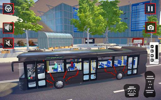 City Coach Bus Driving Simulator 3D: City Bus Game 1.0 screenshots 3