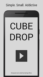 Cube Drop - Arcade Game - náhled