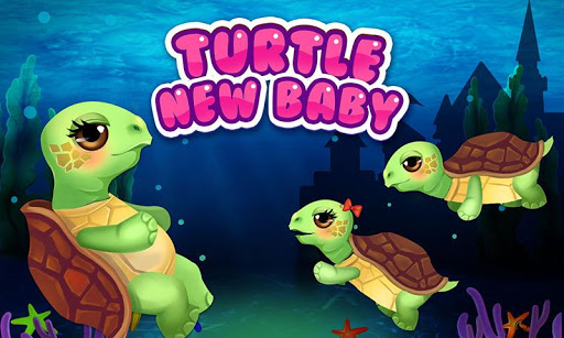 Turtle Mommy New Baby is Born
