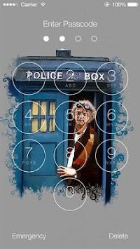 doctor who lock screen