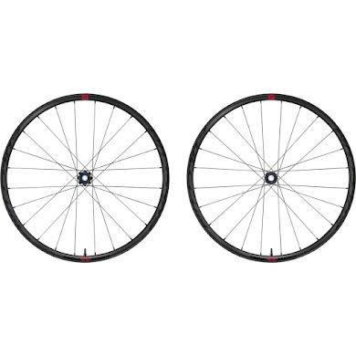 Fulcrum Rapid Red 5 DB Wheelset - 700, 12/15x100/142mm, HG 11, Center-Lock,Black, 2-Way Fit