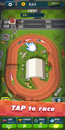 Idle Race Rider u2014 Car tycoon simulator 0.7.1 screenshots 1