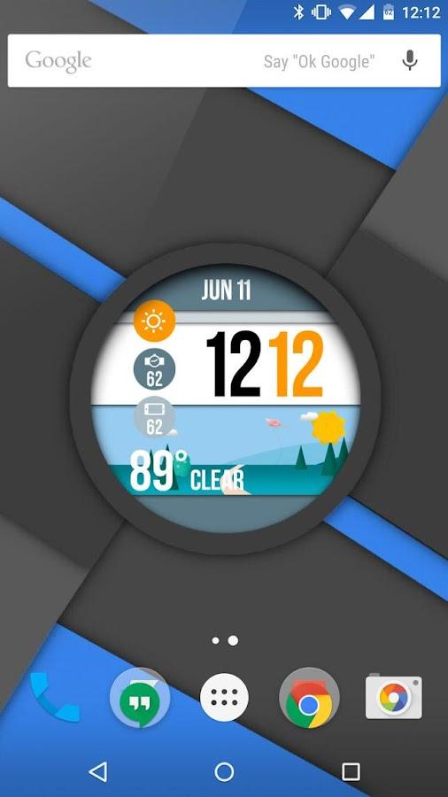 WatchMaker Live Wallpaper - screenshot