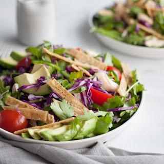 Avocado and Chicken Tortilla Salad