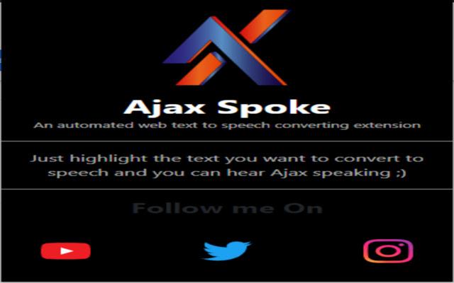 Ajax spoke
