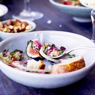 Fig Quinoa Salad with a Fig Feta Vinaigrette