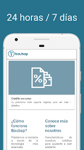 App Baubap: Préstamos al instante APK for Windows Phone
