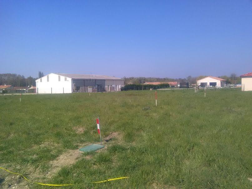 Vente terrain à batir  980 m² à Ouzilly (86380), 29 000 €