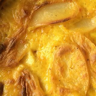 Saffron Scalloped Potatoes