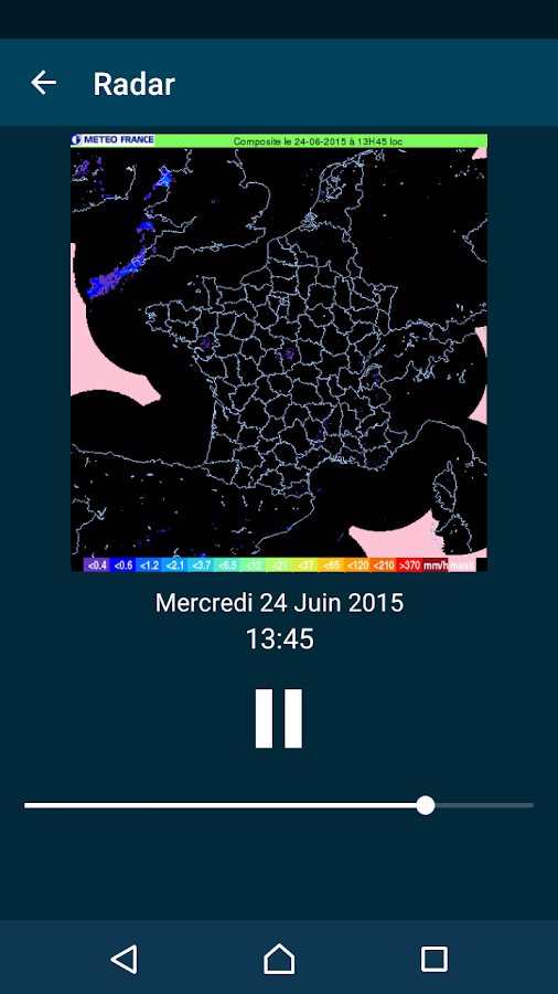 Météo-France- screenshot