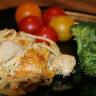 Chicken Tetrazzini.