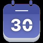 日历 - 议程和假期 icon