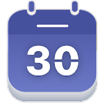 Calendar - Agenda and Holidays Icon