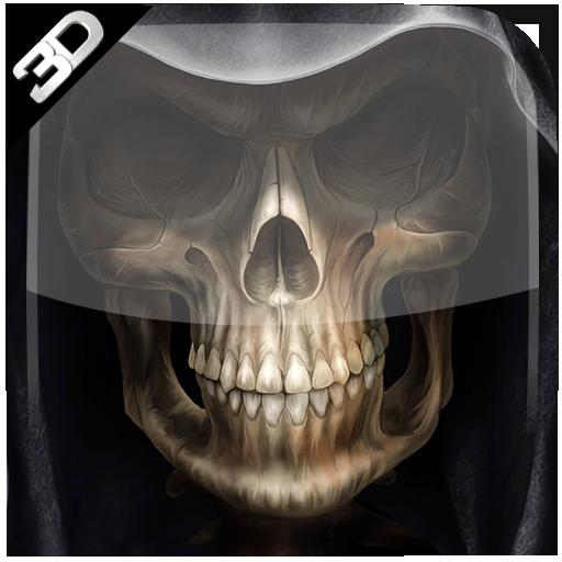 Skull Cube Live Wallpaper