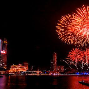 firework 2013  by Jun Hao - Abstract Fire & Fireworks