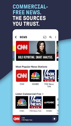 TuneIn Radio: Live News, Sports & Music Stations screenshot 2