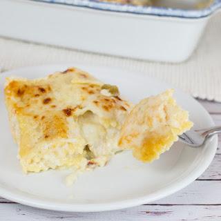 White Chicken Ravioli Bake (a.k.a. Mock Lasagna)