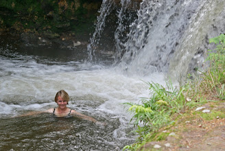 Photo: Bad im Kerosene Creek