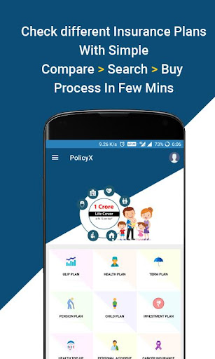 Compare & Buy Insurance Online - PolicyX  screenshots 2