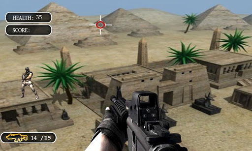 Sniper Desert Commando Shooter