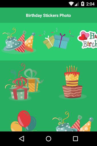 Birthday Stickers Photo