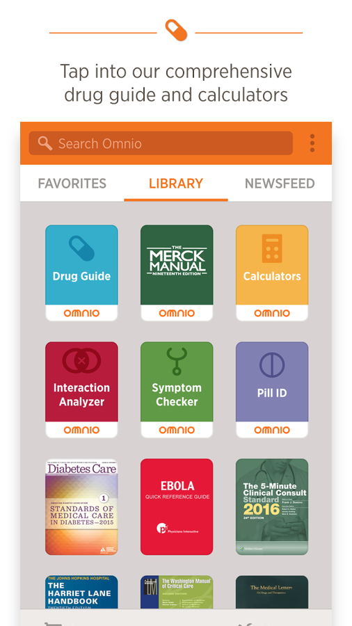 Omnio- screenshot