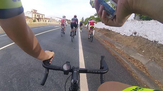 Cómo alimentarse en ciclismo