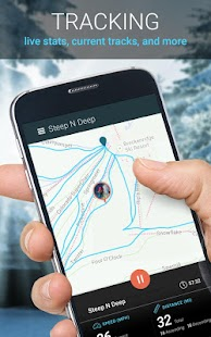 SNOCRU Ski Tracking App- screenshot thumbnail