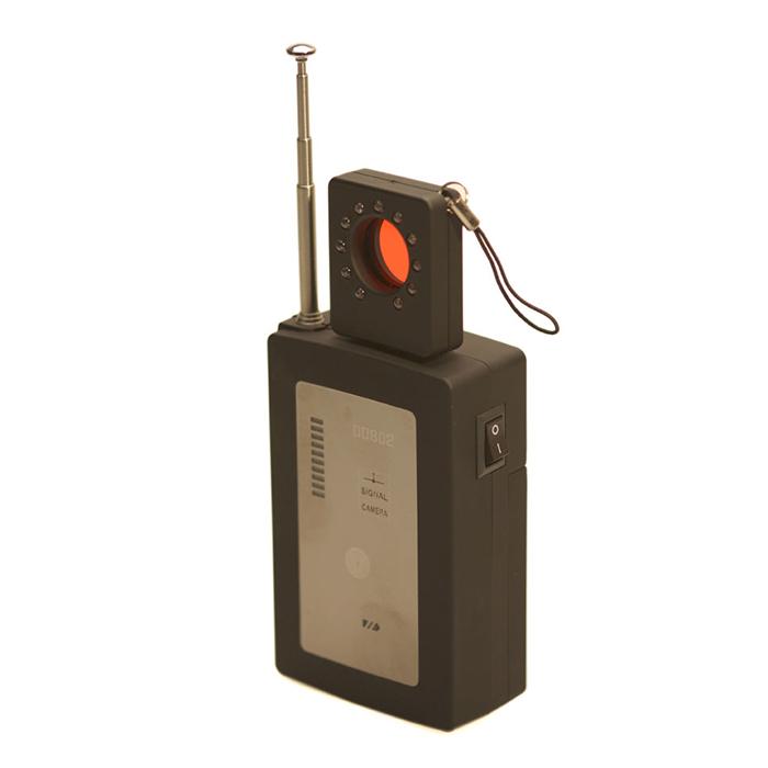 RF детектор с детектором линз