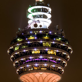 Kuala Lumpur Tower by Halim Jaya - Buildings & Architecture Architectural Detail