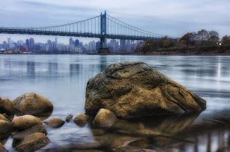 "Photo: ""Writing a memory or writing a rhyme""  #nyc  #newyorkcity  #bridge"