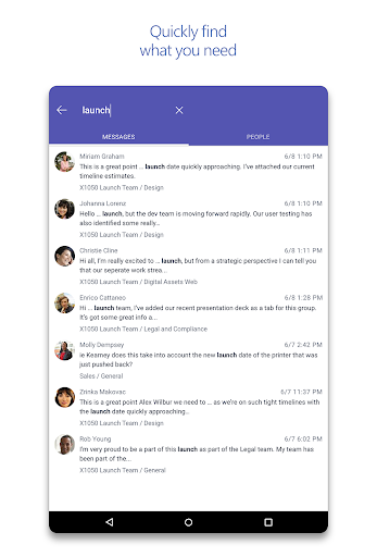 Microsoft Teams 1416/1.0.0.2018032004 screenshots 15