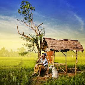 Humble Life by Ketut Manik - Digital Art People
