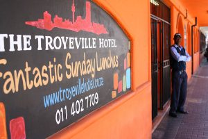 The Troyeville Hotel is celebrated for its Lusitanian food.