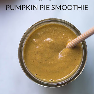 Pumpkin Pie Smoothie (V + GF)