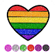 Glitter Hearts coloring and drawing for kids Download on Windows