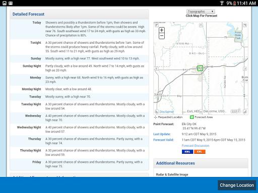 Weather Radar Widget screenshot 11