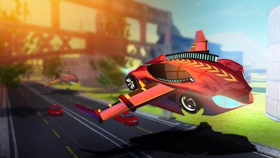 Flying Car Simulator 2017 screenshot