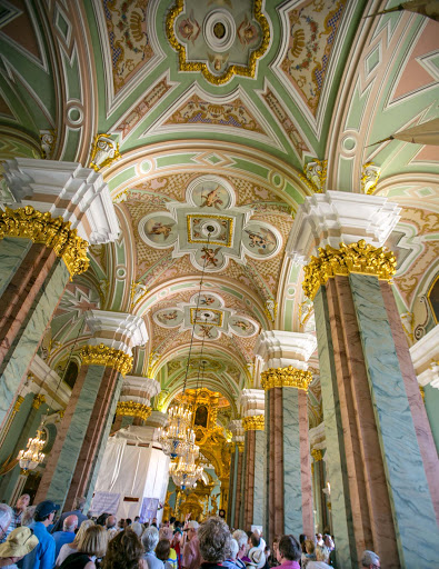 saints-peter-and-paul-interior.jpg - The interior of Sts. Peter and Paul Cathedral in St. Petersburg, Russia.