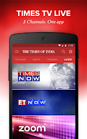 Screenshot of The Times of India News